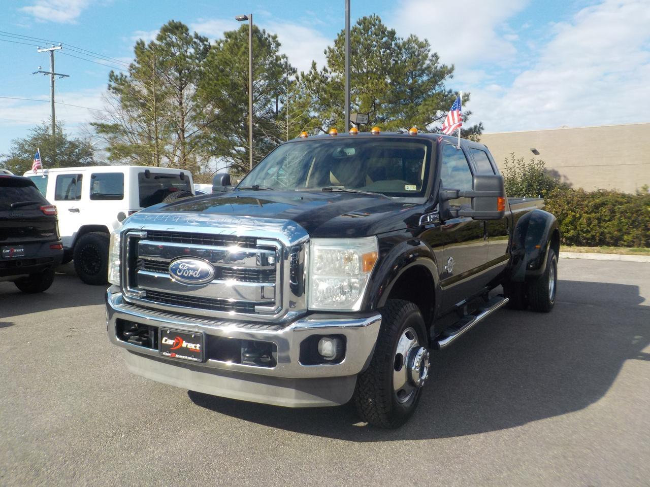 2011 FORD F-350 CREW CAB LARIAT DUALLY LONGBED DIESEL 4X4, ONE OWNER, ARIZONA TRUCK NO RUST, ONLY 57K MILES! Virginia Beach VA