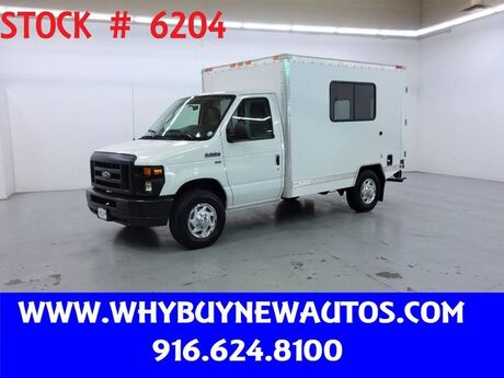 2011 Ford E350 ~ 10ft. Box Van ~ Only 15K Miles! Rocklin CA