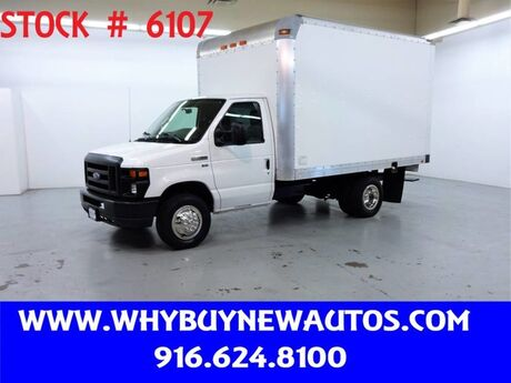 2011 Ford E350 ~ 11ft. Box Van ~ Only 34K Miles! Rocklin CA