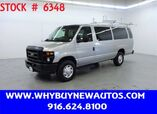 2011 Ford E350 ~ Extended Length ~ Dual Fold-down Ladder Rack ~ Only 34K Miles!