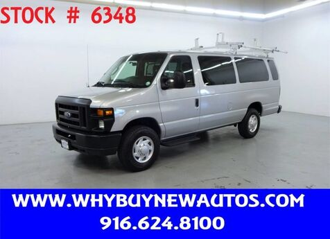 2011 Ford E350 ~ Extended Length ~ Dual Fold-down Ladder Rack ~ Only 34K Miles! Rocklin CA