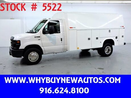 2011 Ford E450 ~ Plumber Body ~ Only 62K Miles! Rocklin CA