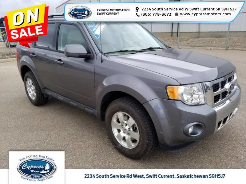 2011 Ford Escape Limited  - Leather Seats -  Bluetooth - $152 B/W Swift Current SK