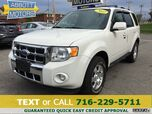 2011 Ford Escape Limited 4WD w/Leather