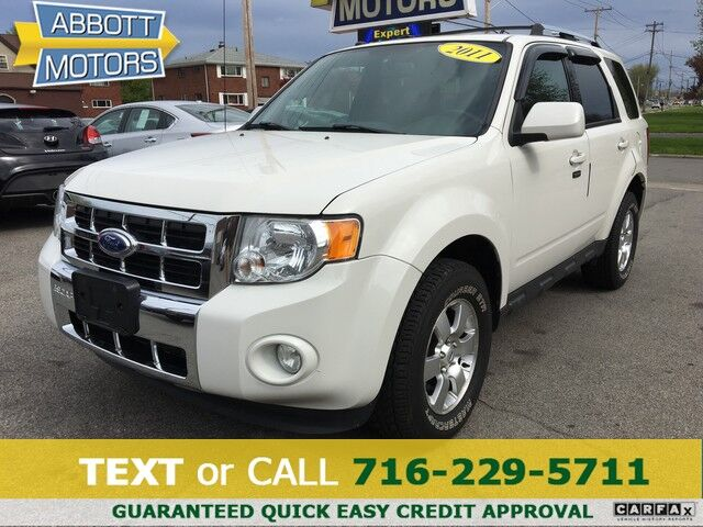 2011 Ford Escape Limited 4WD w/Leather Buffalo NY