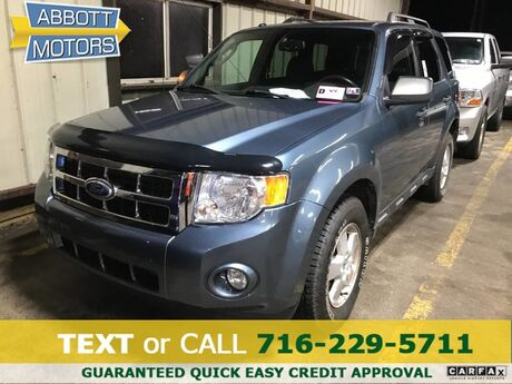2011 Ford Escape XLT 4WD 1-Owner w/Moonroof Buffalo NY