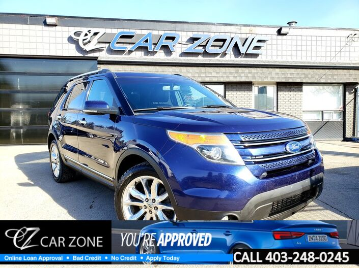 2011 Ford Explorer Limited, Navi, Leather, Low Payments Calgary AB