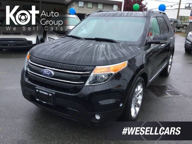 2011 Ford Explorer Limited V6 6-Passenger, Leather Interior, Panoramic Sunroof! Victoria BC