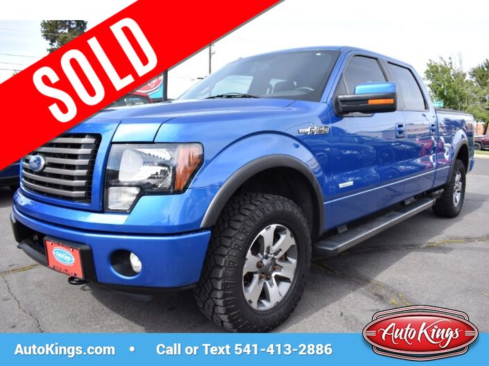 2011 Ford F-150 4WD FX4 SuperCrew Bend OR