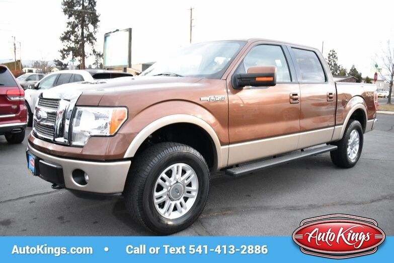 2011 Ford F-150 4WD SuperCrew 145 Lariat Bend OR