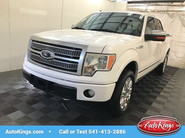 2011 Ford F-150 4WD SuperCrew 145 Platinum Bend OR