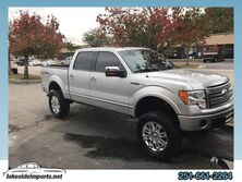 Ford F-150 4WD SuperCrew 145 Platinum Lifted 35s 2011
