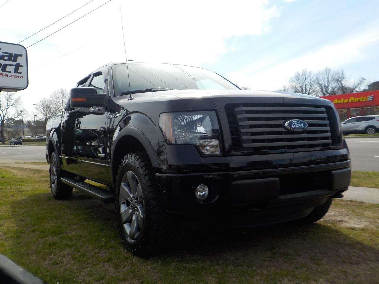 2011 Ford F-150 FX4 SUPERCREW 4X4, WARRANTY, REMOTE START, PARKING SENSORS, RUNNING BOARDS, BLUETOOTH, SYNC, TOW! Virginia Beach VA
