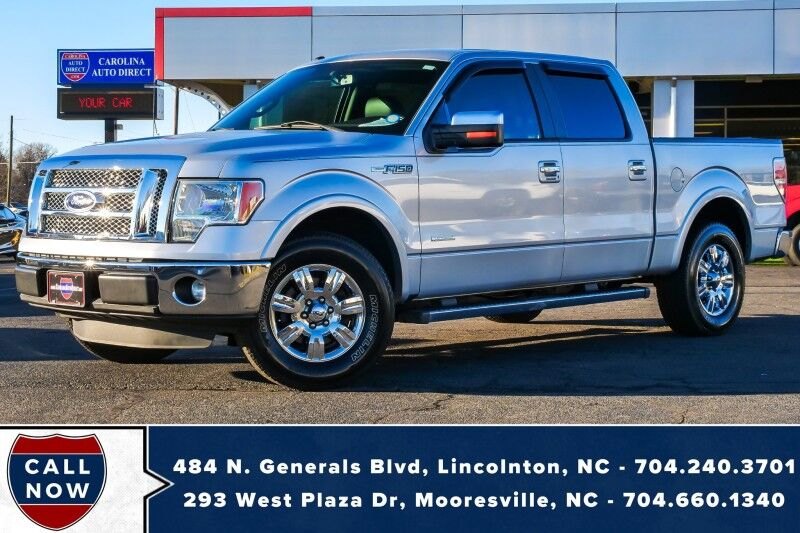 2011 Ford F-150 Lariat *SuperCrew* w/ Heated & Vented Front Seats Mooresville NC