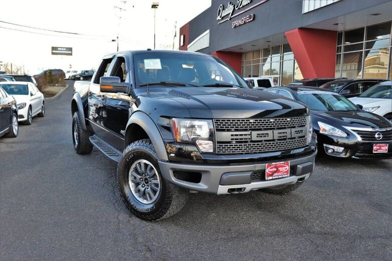 2011 Ford F-150 SVT Raptor 4WD Super Crew - CARFAX Certified 1 Owner Fully Serviced Quality Certified W/up to 12 Mo / 12, 000 Miles Warranty Springfield NJ