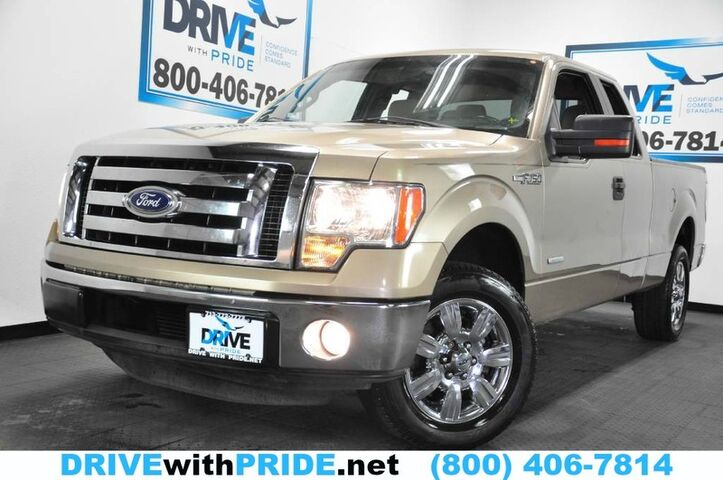 2011 Ford F-150 XLT 3.5L ECOBOOST CONVENIENCE PKG BED LINER CHROME WHLS Houston TX