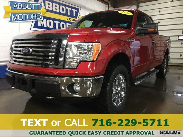 2011 Ford F-150 XLT 4WD SuperCab Buffalo NY