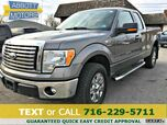 2011 Ford F-150 XLT SuperCab 4WD w/Chrome Pkg