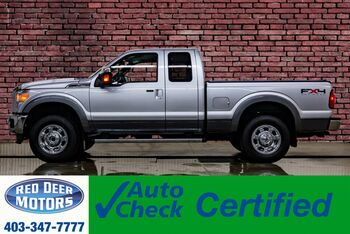2011_Ford_F-250_4x4 Super Cab Lariat Leather Nav_ Red Deer AB
