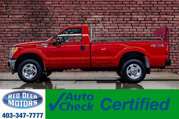 2011_Ford_F-350_4x4 Reg Cab XLT Longbox_ Red Deer AB