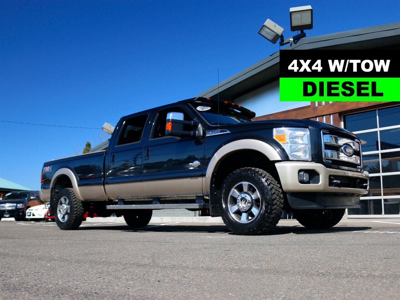 2011 Ford F-350 King Ranch / LONG BED / 4X4 / diesel truck Beaverton OR