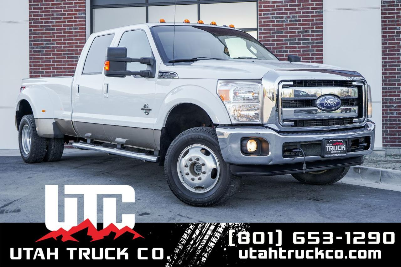 2011 Ford F-350 SD Lariat Crew Cab Long Bed DRW 4WD Lehi UT