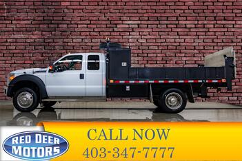 2011_Ford_F-450_4x4 Super Cab XLT Deck Power Tailgate_ Red Deer AB