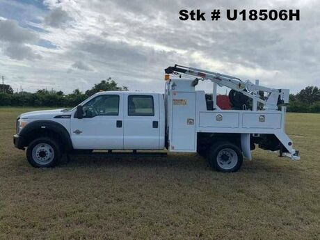 2011 Ford F-550XL Service Body with Crane Homestead FL