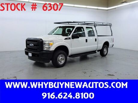 2011 Ford F250 ~ 4x4 ~ Crew Cab ~ Only 40K Miles! Rocklin CA