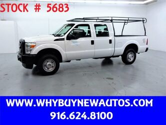 Ford F250 ~ 4x4 ~ Crew Cab ~ Only 47K Miles! 2011