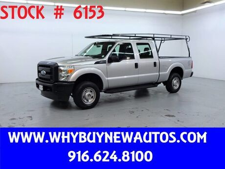 2011 Ford F250 ~ 4x4 ~ Crew Cab ~ Only 63K Miles! Rocklin CA