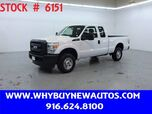 2011 Ford F250 ~ 4x4 ~ Extended Cab ~ Only 32K Miles!