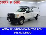 2011 Ford F250 ~ 4x4 ~ Extended Cab ~ Only 66K Miles!