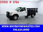 2011 Ford F250 ~ 8ft Stake Bed ~ Only 18K Miles!