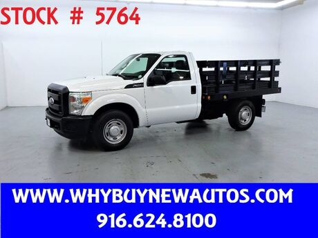 2011 Ford F250 ~ 8ft Stake Bed ~ Only 18K Miles! Rocklin CA