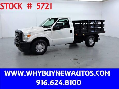 2011 Ford F250 ~ 8ft Stake Bed ~ Only 19K Miles! Rocklin CA