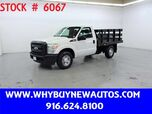 2011 Ford F250 ~ 8ft. Stake Bed ~ Only 20K Miles!