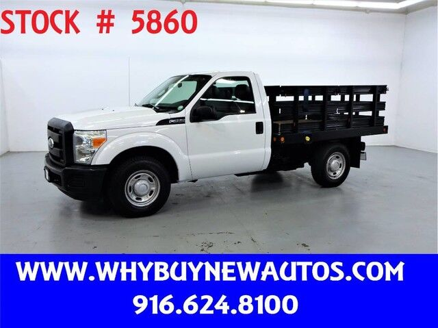 2011 Ford F250 ~ 8ft Stake Bed ~ Only 26K Miles! Rocklin CA