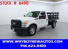 2011_Ford_F250_~ 8ft. Stake Bed ~ Only 39K Miles!_ Rocklin CA