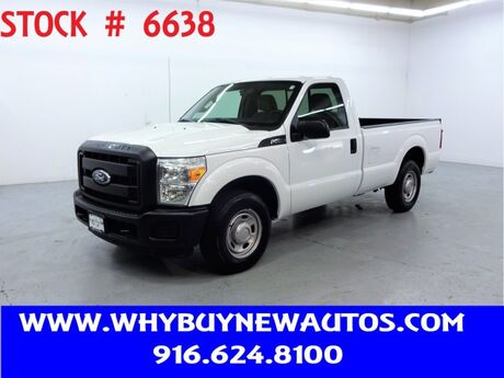 2011 Ford F250 ~ Liftgate ~ Only 44K Miles! Rocklin CA