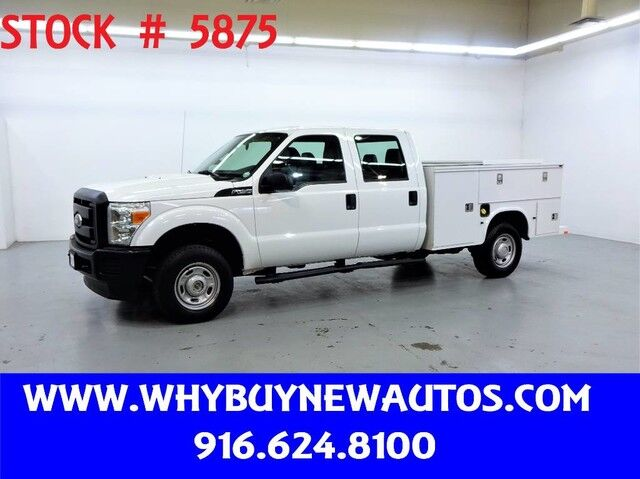 2011 Ford F250 Enclosed Utility ~ 4x4 ~ Crew Cab ~ Only 41K Miles! Rocklin CA