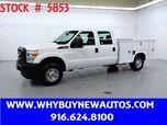 2011 Ford F250 Enclosed Utility ~ 4x4 ~ Crew Cab ~ Only 53K Miles!
