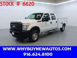 2011 Ford F250 Utility ~ 4x4 ~ Crew Cab ~ Only 39K Miles!