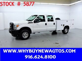 Ford F250 Utility ~ 4x4 ~ Crew Cab ~ Only 51K Miles! 2011