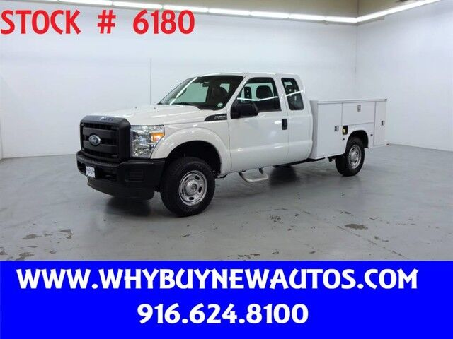 2011 Ford F250 Utility ~ 4x4 ~ Extended Cab ~ Only 70K Miles! Rocklin CA