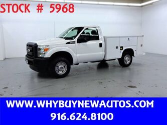 Ford F250 Utility ~ 4x4 ~ Only 16K Miles! 2011