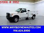 2011 Ford F250 Utility ~ 4x4 ~ Only 27K Miles!