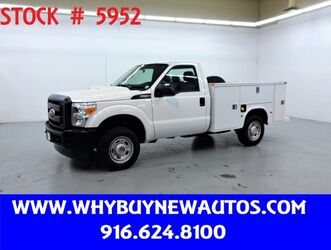 Ford F250 Utility ~ 4x4 ~ Only 27K Miles! 2011