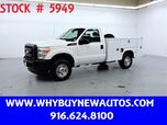 2011 Ford F250 Utility ~ 4x4 ~ Only 31K Miles!