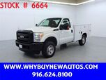 2011 Ford F250 Utility ~ 4x4 ~ Only 36K Miles!
